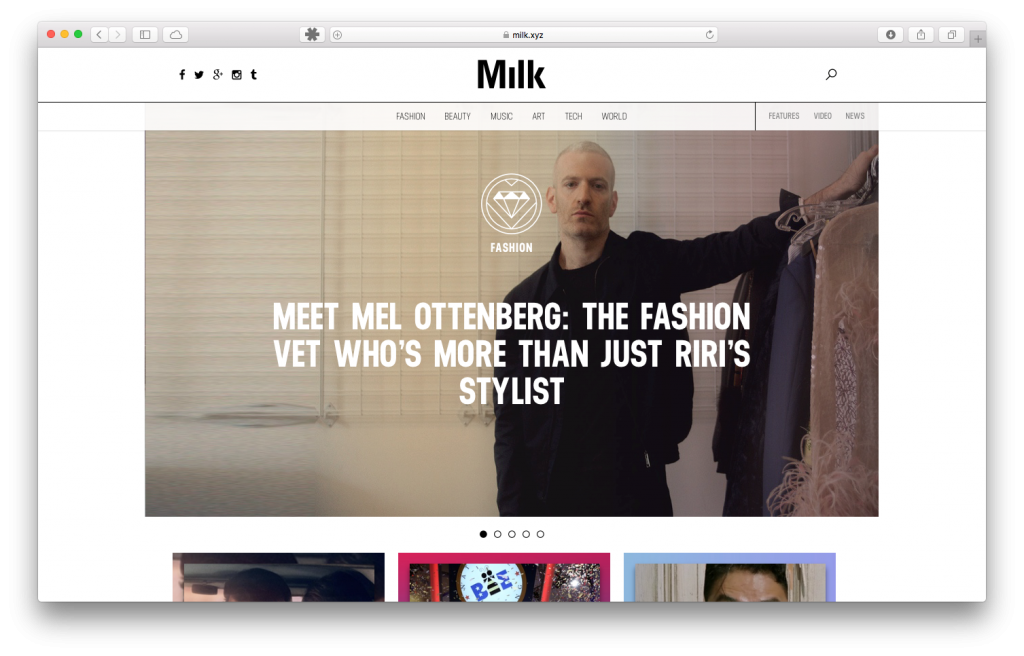 Milk.xyz – Milk Agency