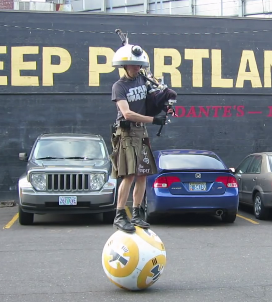 Star Wars Bagpipes