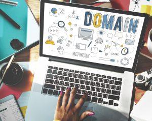 Conceito do Web site do Internet do homepage do endereço de domínio