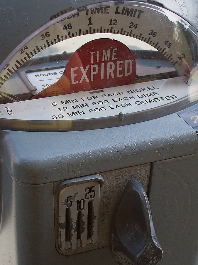 expired domains parking meter