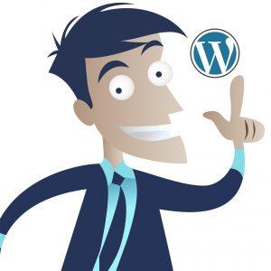 Homem idéia WordPress
