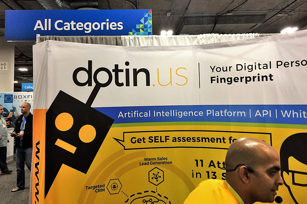 A company at CES 2017 using a .US domain name