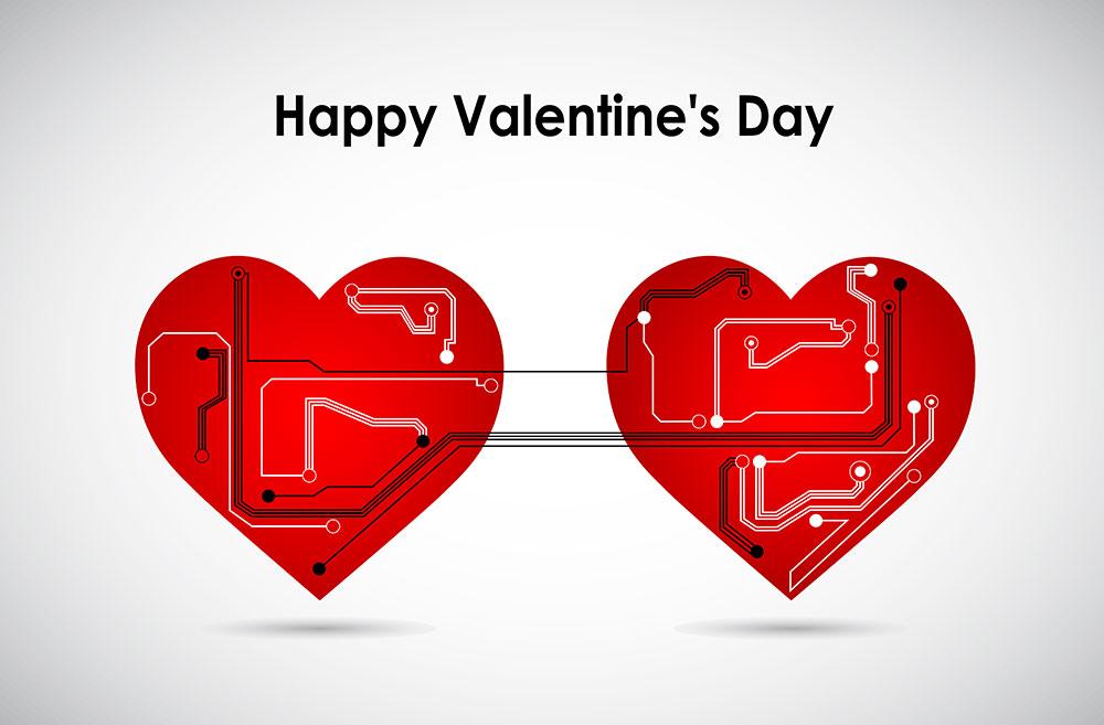 circuit board hearts