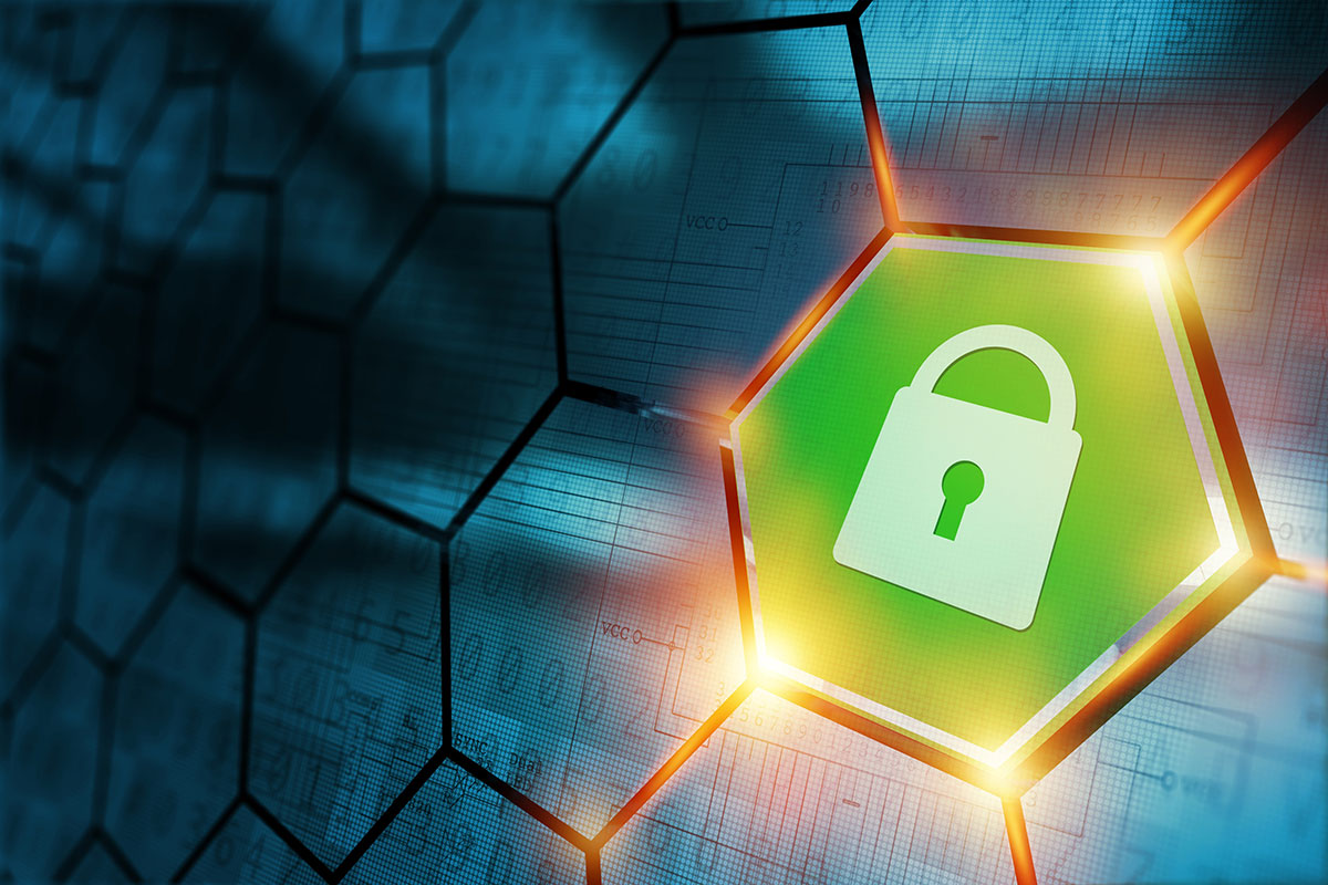 Green padlock to show secure site