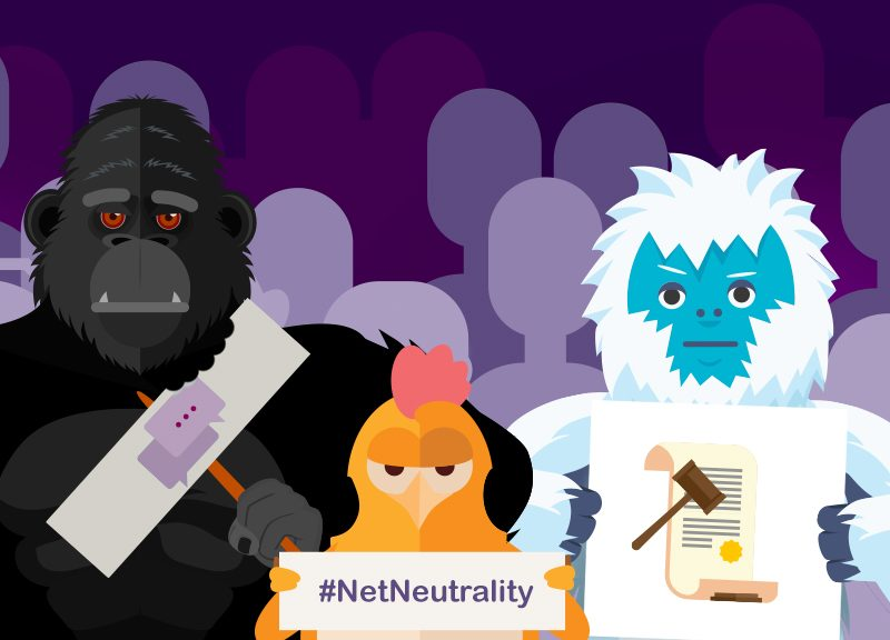 Namecheap characters support Net Neutrality
