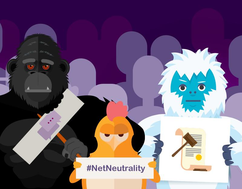 Namecheap characters support Net Neutrality