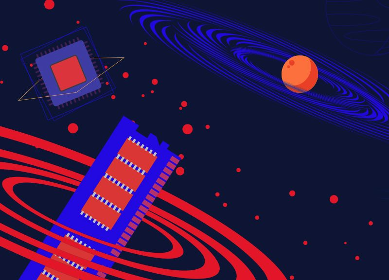 Illustration for KVM