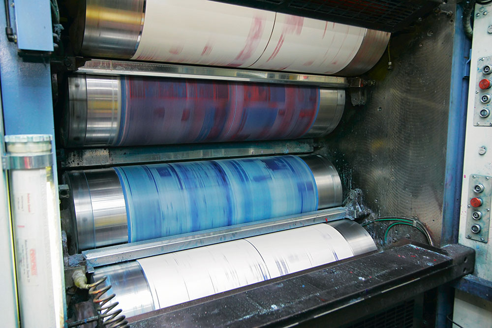 color printing press