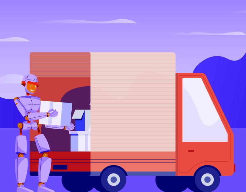moving van for transfer sale