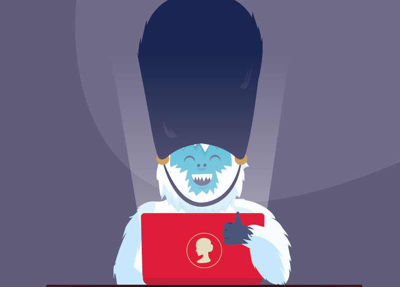 yeti excited about .uk domains