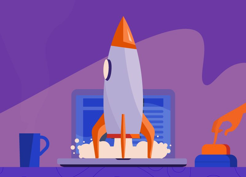 rocket launching your new business