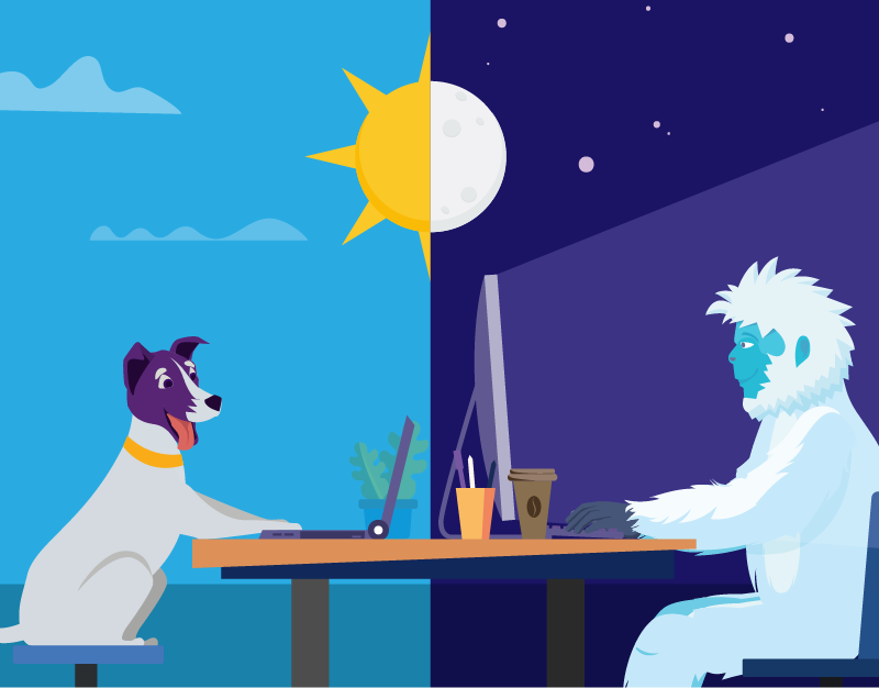 Night Owls May Face Special Challenges >> Why Being A Night Owl Isn T A Bad Thing Namecheap Blog