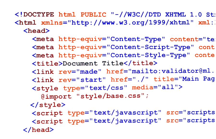 how to add html in header