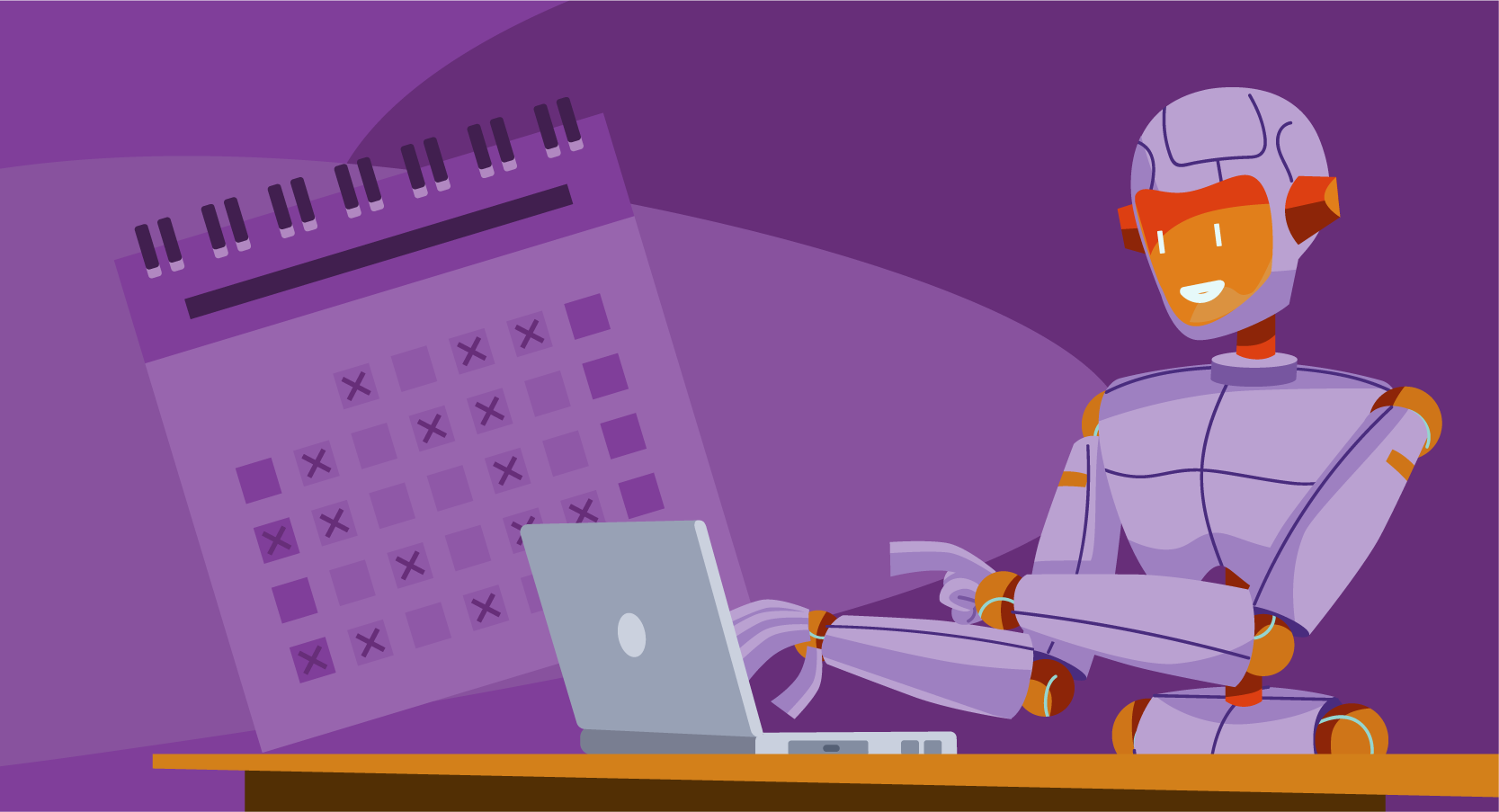 robot scheduling appointments