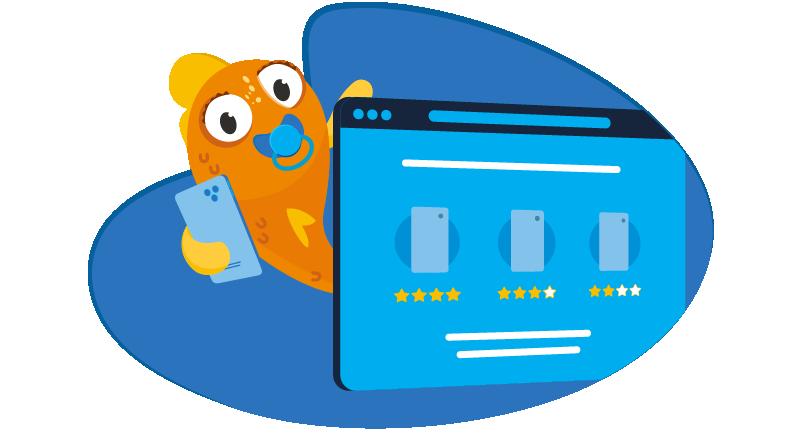 Baby fish building website