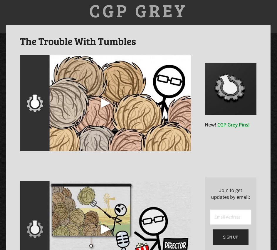 CGP Grey website